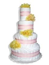 Floral Diaper Cakes - Choose Colors - $120.00