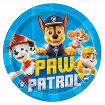 Paw Patrol Lunch Dinner Plates Boys 8 Per Package Birthday Party Supplies New - $3.91