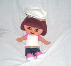 "Fisher Price Dora the Explorer 13"" BAKER Plush Doll 2005 - $12.96"