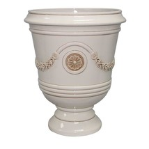 Garden Beautification Tool Durable Ceramic and Resin Composite White Fin... - $95.61 CAD