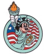 Disney American Flag Patriotic Minnie Mouse as the Statue of Liberty Pin - $19.59