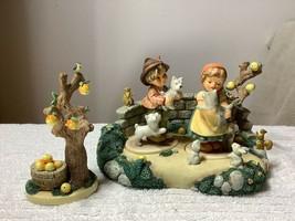 4 Piece Hummel Set Hummel Scape Kinder Park, Tender Love, Frisky Friends... - $178.20
