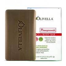 Olivella Pomegranate 100% Olive Oil Bar Face & Body Soap 12 pack x 5.29 ... - $44.99