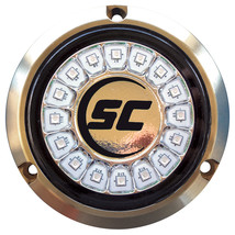 Shadow-Caster Great White Single Color Underwater Light - 16 LEDs - Bronze [SCR- - $431.07