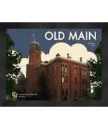 "University of Colorado at Boulder ""Old Main"" 13x16 Art Deco Framed Print  - $39.95"
