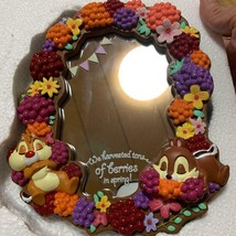 Disney Store Chip & Dale Berry Stand Mirror Table Mirror - $64.35