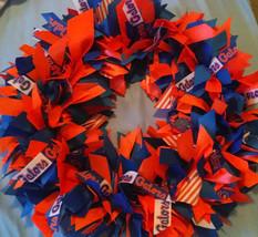"University of Florida GATORS 16"" Ribbon Wreath Custom Made For Each  Fan - $50.00"