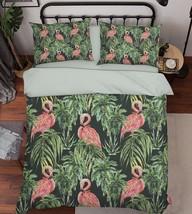 3D Plants Birds Bed Pillowcases Quilt Duvet Cover Set Single Queen King Size AU - $90.04+