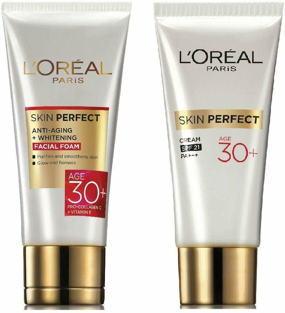 L'Oreal Paris Skin Perfect 30+ Facial Foam, 50g and L'Oreal Paris Skin Perfect 3 - $58.65