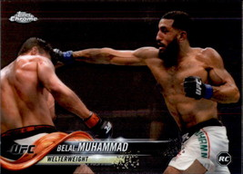 Belal Muhammad 2018 Topps Chrome UFC Rookie Card #75 - $0.99