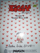 Ziggy Counted Cross Stitch Pattern Book Paragon Needlecraft - $6.99