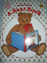 A Bear Book Counted Cross Stitch Pattern Book Designs by Gloria & Pat - $6.99