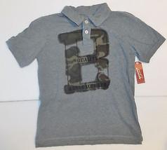 Arizona Jean Co Boys Gray and Camo Polo Shirt Size XLarge 14-16 NWT - $16.47