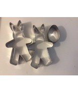Aluminum Cookie Cutters Rabbits and egg - $5.35