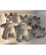 Aluminum Cookie Cutters Rabbits and Clovers each set 4pc - $5.35