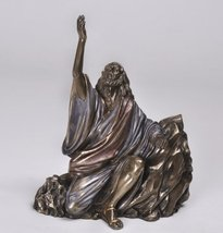 8 Inch The Cry of Jesus Calling to God Resin Statue Figurine - £29.25 GBP