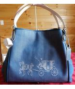 NWT COACH 35344 HORSE AND CARRIAGE EDIE SHOULDE... - $185.00