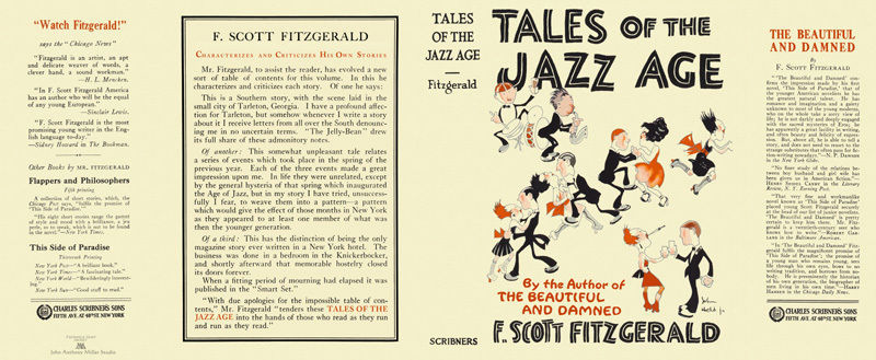 essay on jazz age Shmoop guide to f scott fitzgerald the jazz age 5 two years after the crash fitzgerald eulogized the period in an essay entitled echoes of the jazz age.