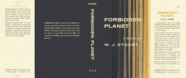 Stuart FORBIDDEN PLANET facsimile dust jacket f... - $20.90