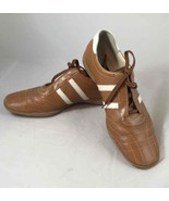 Paul Green Munchen Brown/White Leather Oxford Tie Shoes Womens Size 7.5 ... - $39.59