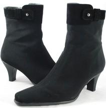 Stuart Weitzman - Black Gore-Tex Ankle Boots - Skinny Heel - Women's Siz... - £155.01 GBP