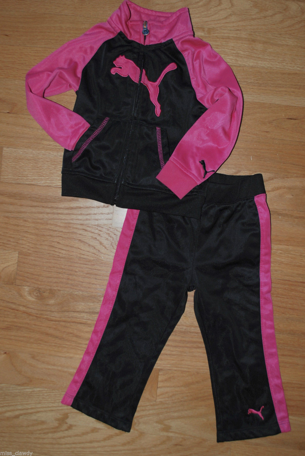buy online a8cd3 2e066 Puma Sweat Track Suit Outfit Set - Toddler and 29 similar items