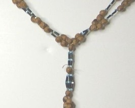 Vintage Hippie Seed & Bead Necklace - $10.99