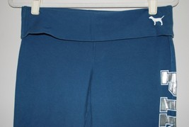 Victoria Secret PINK 86 - Fold Over Yoga Lounge Pants - Size S  Small - Blue - $24.26