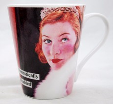 "Anne Taintor ""Domestically Disabled"" Porcelain Coffee Mug Cup Vintage Wi... - $9.88"