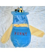 DISNEY STORE WINNIE THE POOH PLUSH HONEY POT TODDLER HALLOWEEN COSTUME 18-24M - $11.60