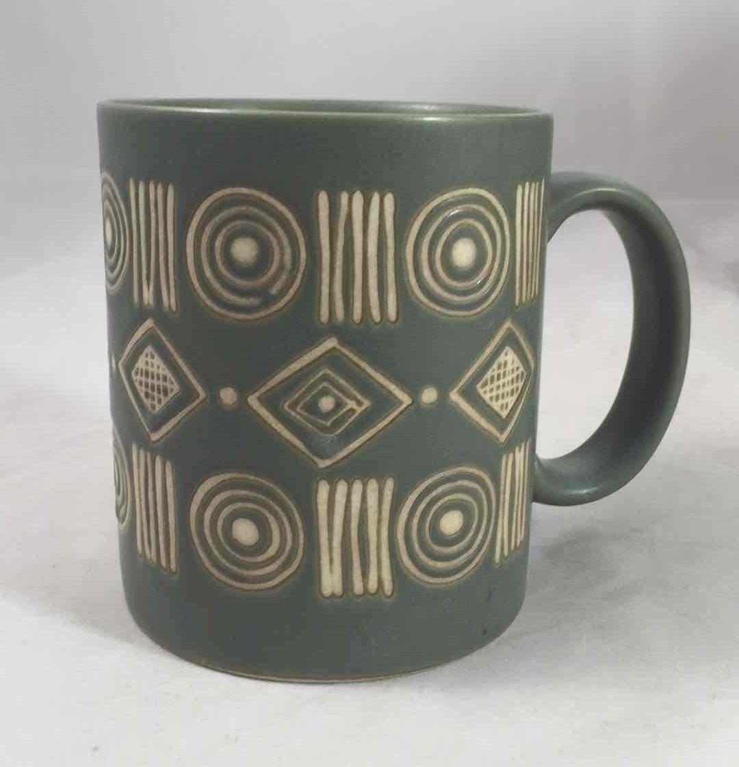 Pottery Barn BONGO Coffee Mug Green/Teal and similar items
