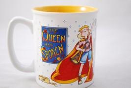 "Mary Engelbreit ""The Queen Has Spoken"" 12oz Coffee Mug Queen of Everything - $12.86"