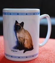 Papel Freelance Coffee Mug - SIAMESE CAT PORTRAIT - R. Maystead - $24.26