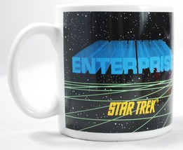 Original 1991 Star Trek Starship USS Enterprise Coffee Mug - $24.74