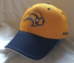 Buffalo Sabers Reebok Flex Fit Yellow Slouch Curve Brim Hat NHL Cap L/XL - €6,88 EUR
