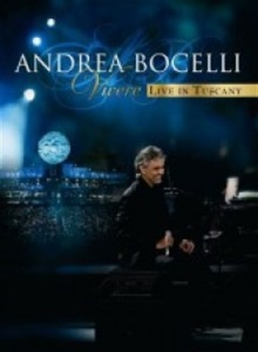 Vivere live in tuscany dvd by andrea bocelli