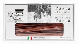 Tagliatelle egg pasta flavoured with Barolo wine L'Antica Madia - $10.30