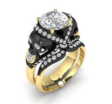 Skull Engagement Ring in 10 k Temple of the Anc... - $699.00