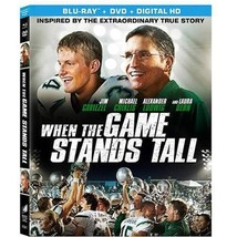 WHEN THE GAME STANDS TALL - BLU-RAY + DVD + Digital HD - DVD
