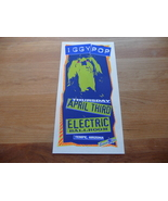 Iggy Pop Electric Ballroom 1997 Tempe AZ Handbill Iggy and The Stooges Punk - $34.99