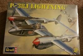 Revell Jet Airplane P 38 J Lightning Model Brand New - $27.99