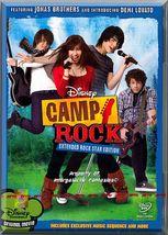 DVD - Camp Rock: Extended Rock Star Edition (2008) *Demi Lovato / Alyson... - $7.49
