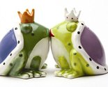 Kiss a lot of Frogs Royal Salt & Pepper Shakers Set S/P