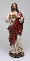 Sacred Heart of Jesus Statue God's Divine Love For Mankind - $27.71