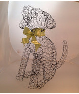 Sitting Labrador Puppy Topiary Frame - $65.00
