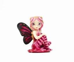 Large Pink Lightning Strangeling Fairy Figurine 8212 - £16.49 GBP