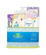 Johnson's Bath Discovery Baby Gift Set, Baby Bath Time Essentials for Pa... - $15.03