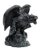 6.5 Inch Screaming Gargoyle Warrior Mystical Statue Figurine - £17.24 GBP