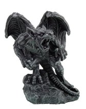 6.5 Inch Ready to Fight Gargoyle Warrior Mystical Statue Figurine - $17.77