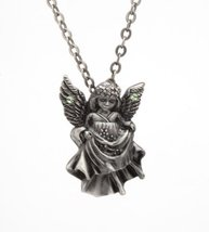 Lead-free pewter Necklace - Angel - €13,55 EUR